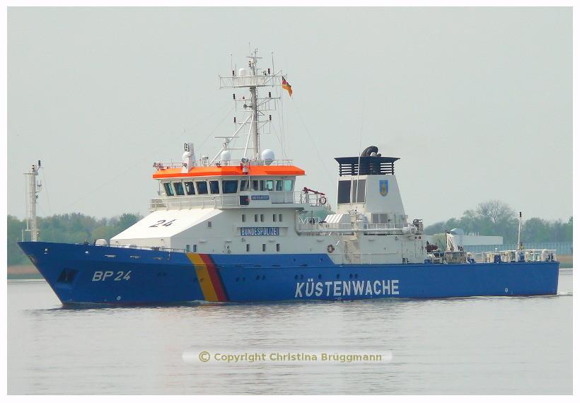 BAD BRAMSTEDT BP 24 auf der Elbe 08.05.2015