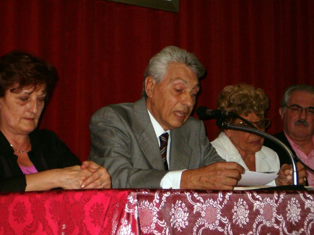 Intervento del Presidente del Centro Studi Valle Imagna Dott. G. Locatelli