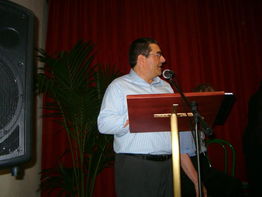Intervento di  A. Carminati quale Direttore e Coordinatore Editoriale