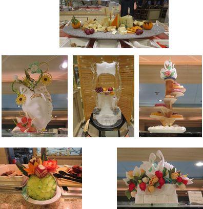 果物の飾り物