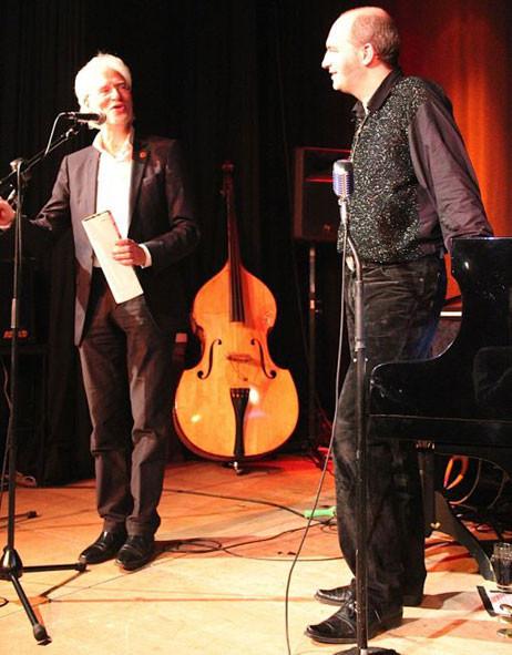 Bernd Strauch und Andy Lee