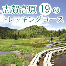 志賀高原19のトレッキングコース