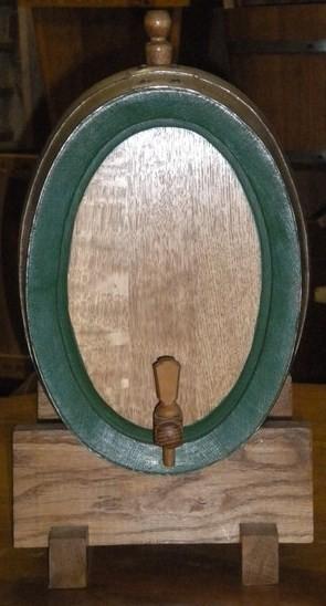 holzfass 10 liter oval