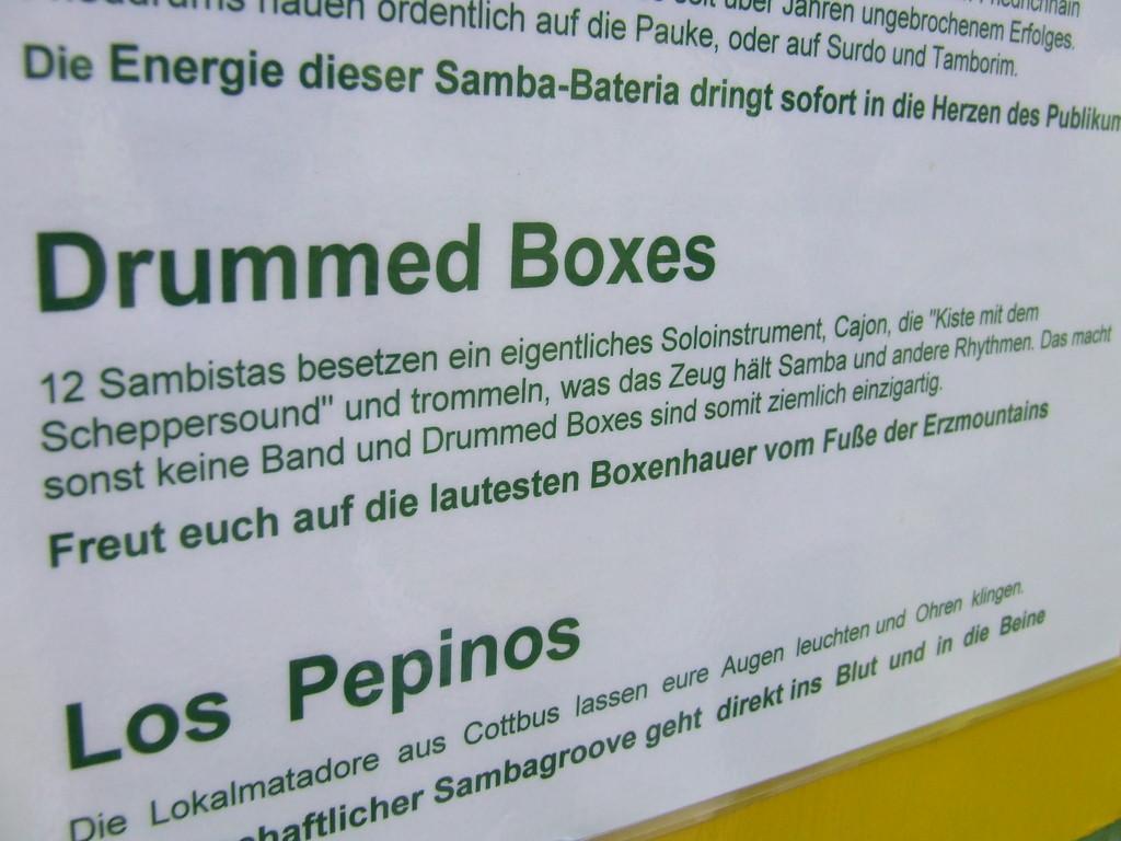 die lautesten Boxenhauer am Fuße der Erzmountans--> zu Geil