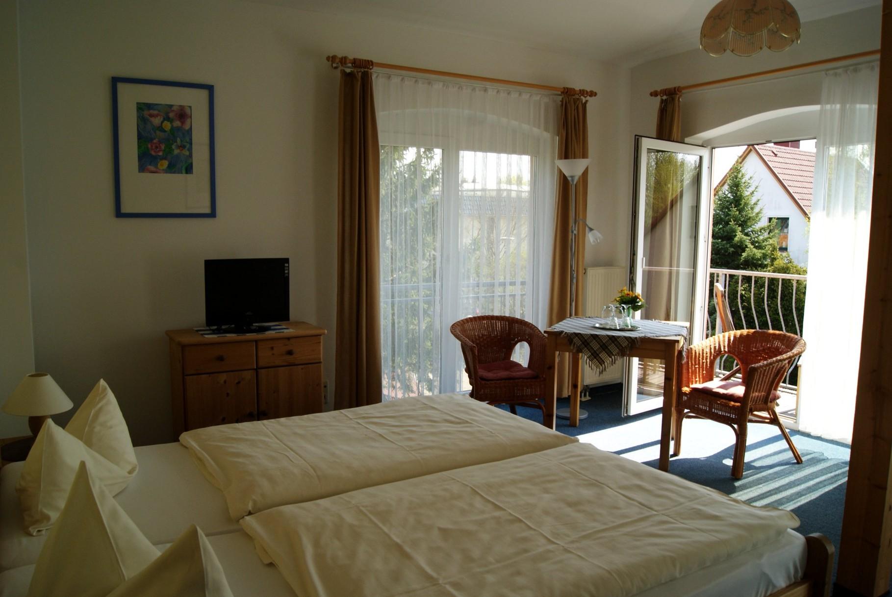 Doppelzimmer mit Balkon Pension Waldeck