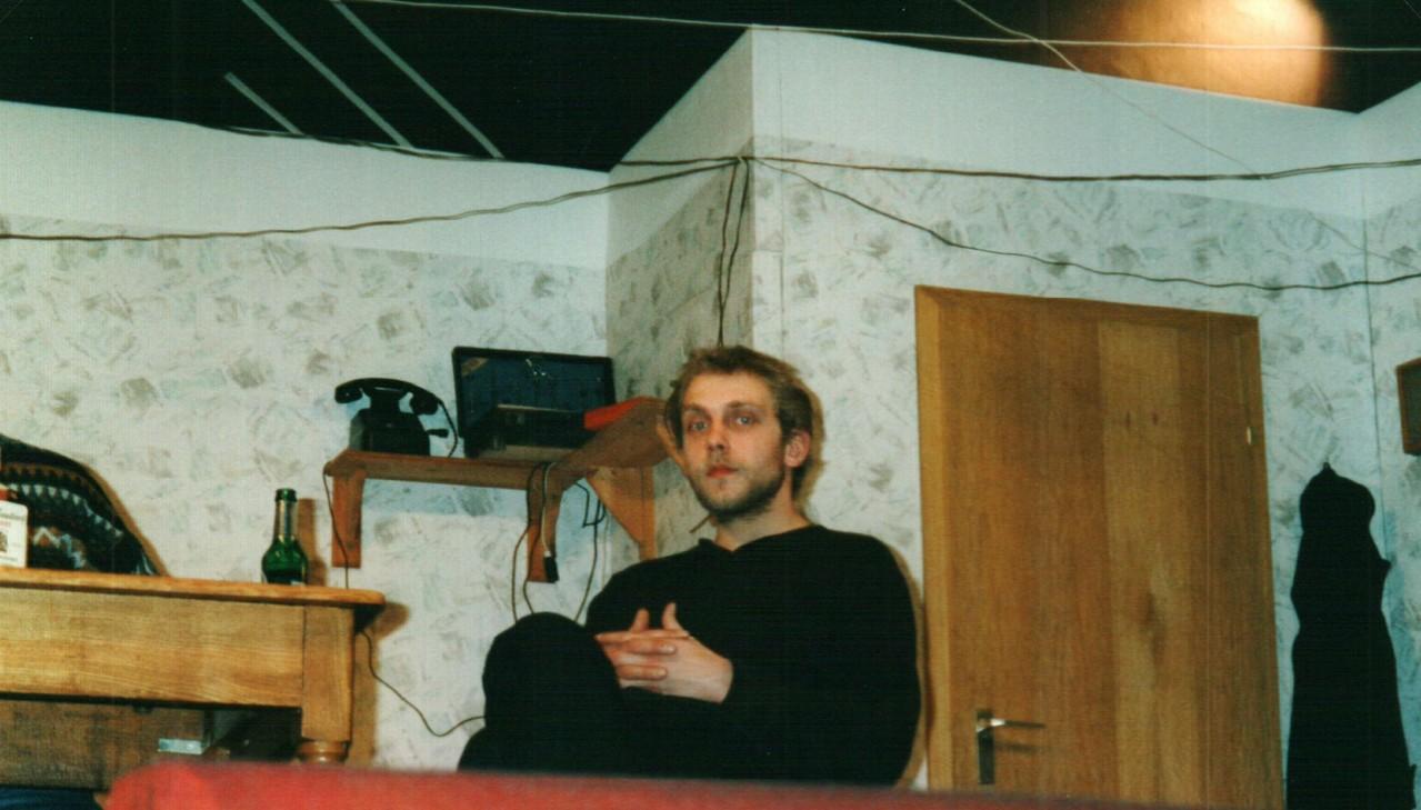 Bei der Probe: Christoph Koloff