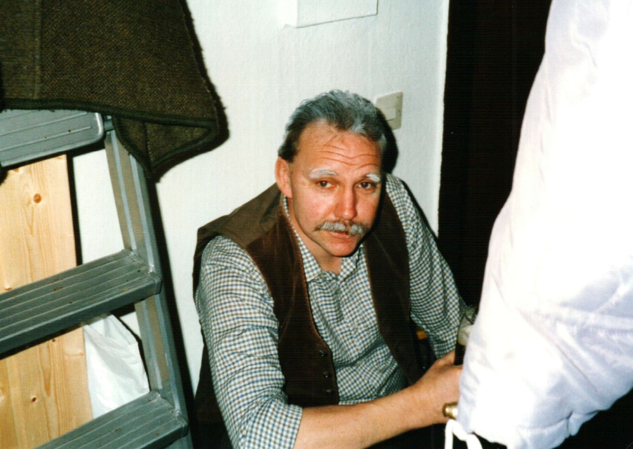 Hinter der Bühne: Fritz Bergholz