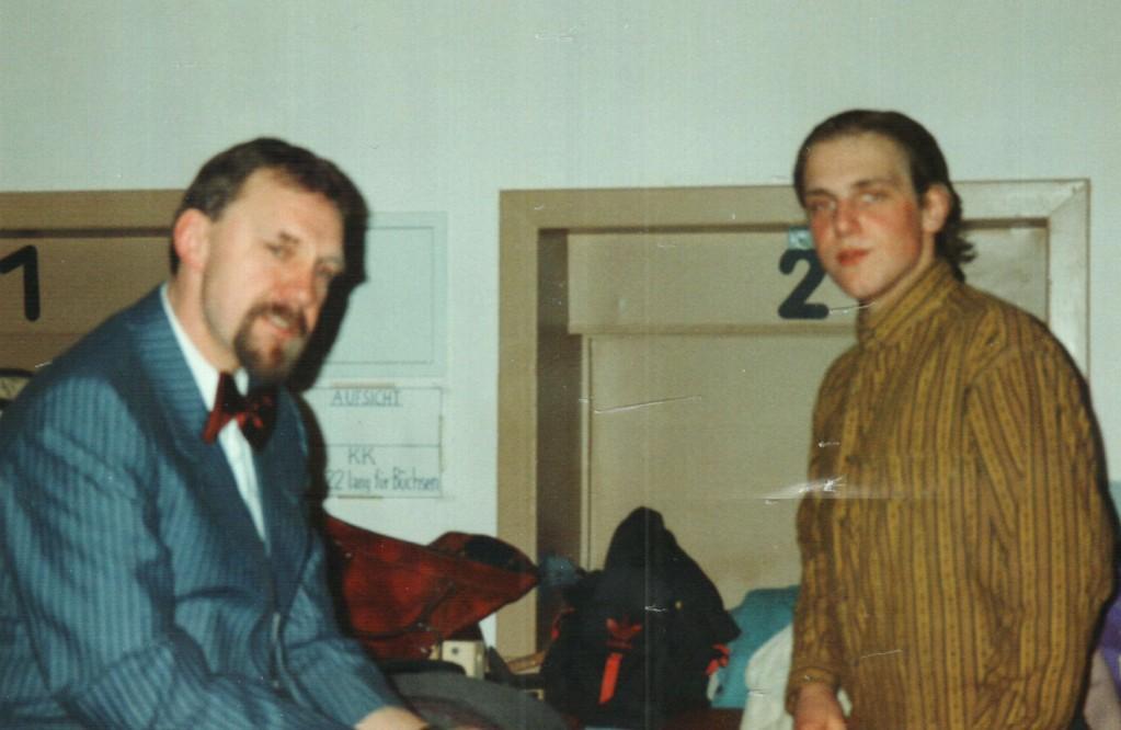 Hinter der Bühne: Fritz Bergholz, Christoph Koloff
