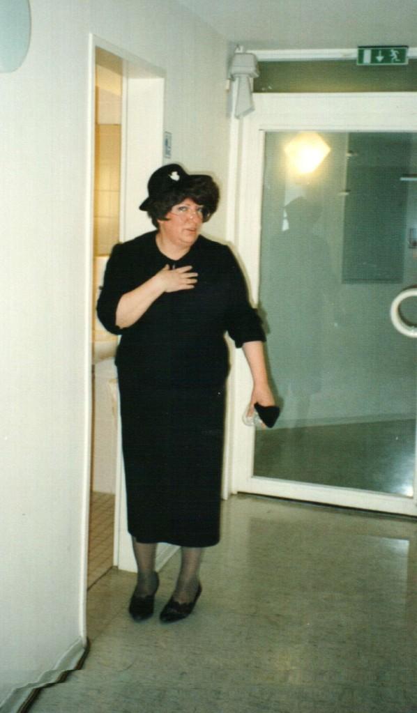 "Nienburg ""Backstage"": Gertrud Ballersteadt"
