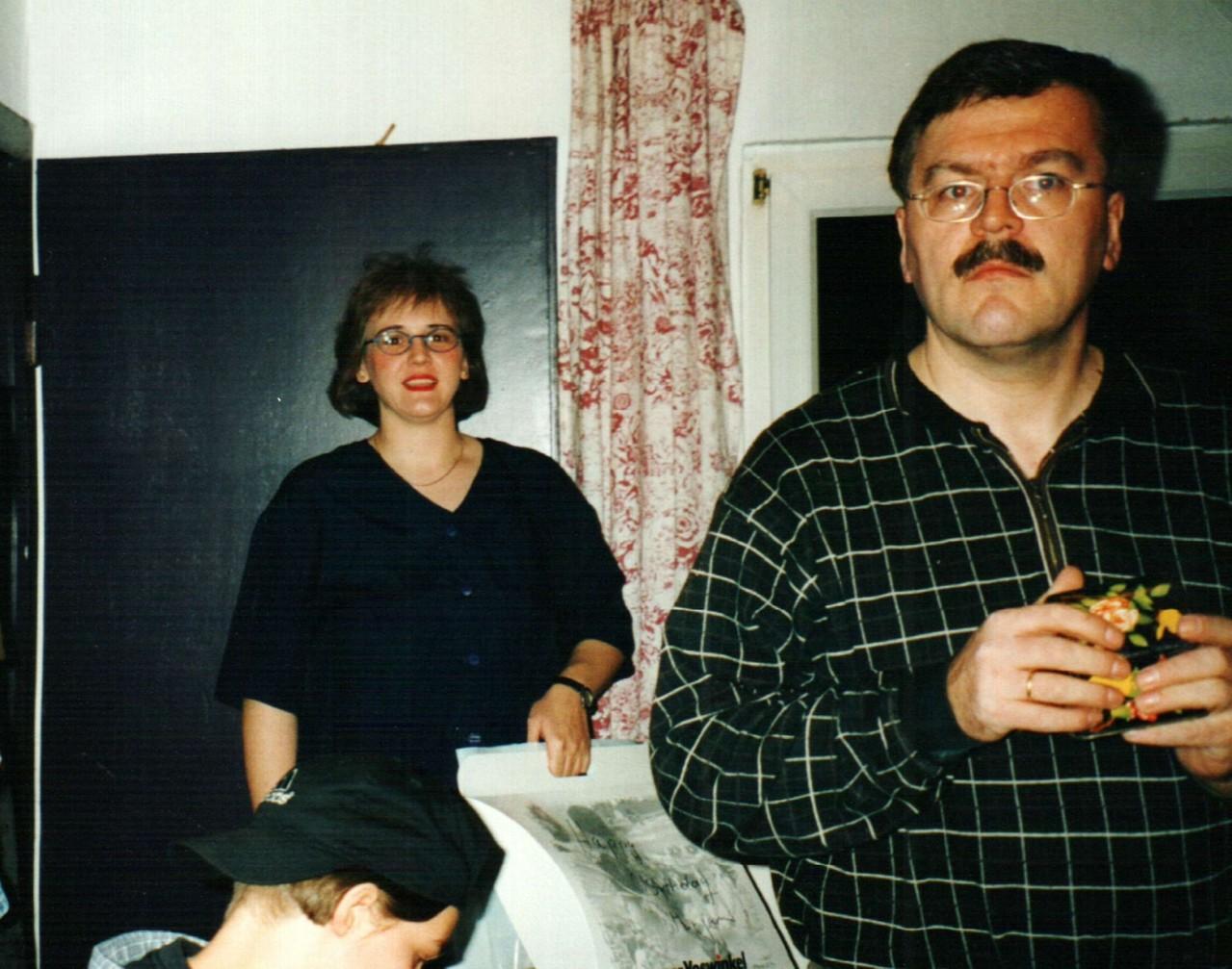 Hinter der Bühne: Mirjam Koloff, Dirk Reineke