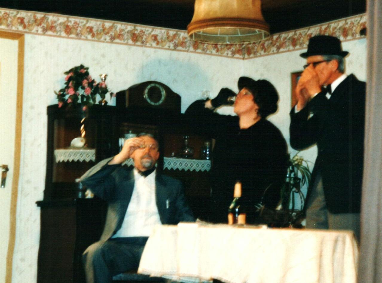 Fritz Bergholz, Gertrud Ballerstaedt, Heinrich Gilster