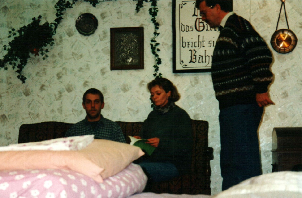 Bei den Proben: Christoph Koloff, Birgit Brügesch, Dirk Reineke