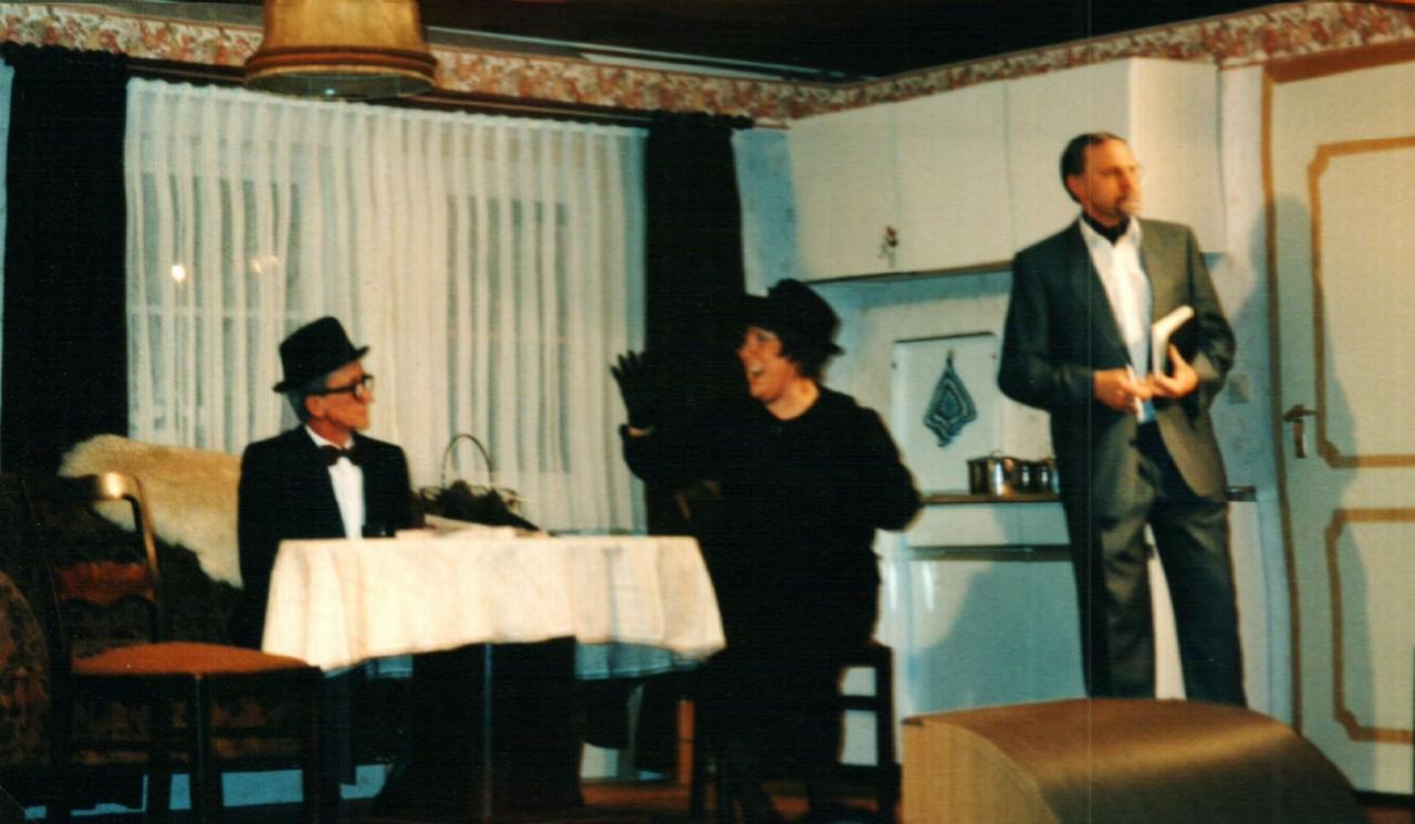 Heinrich Gilster, Gertrud Ballerstaedt, Fritz Bergholz