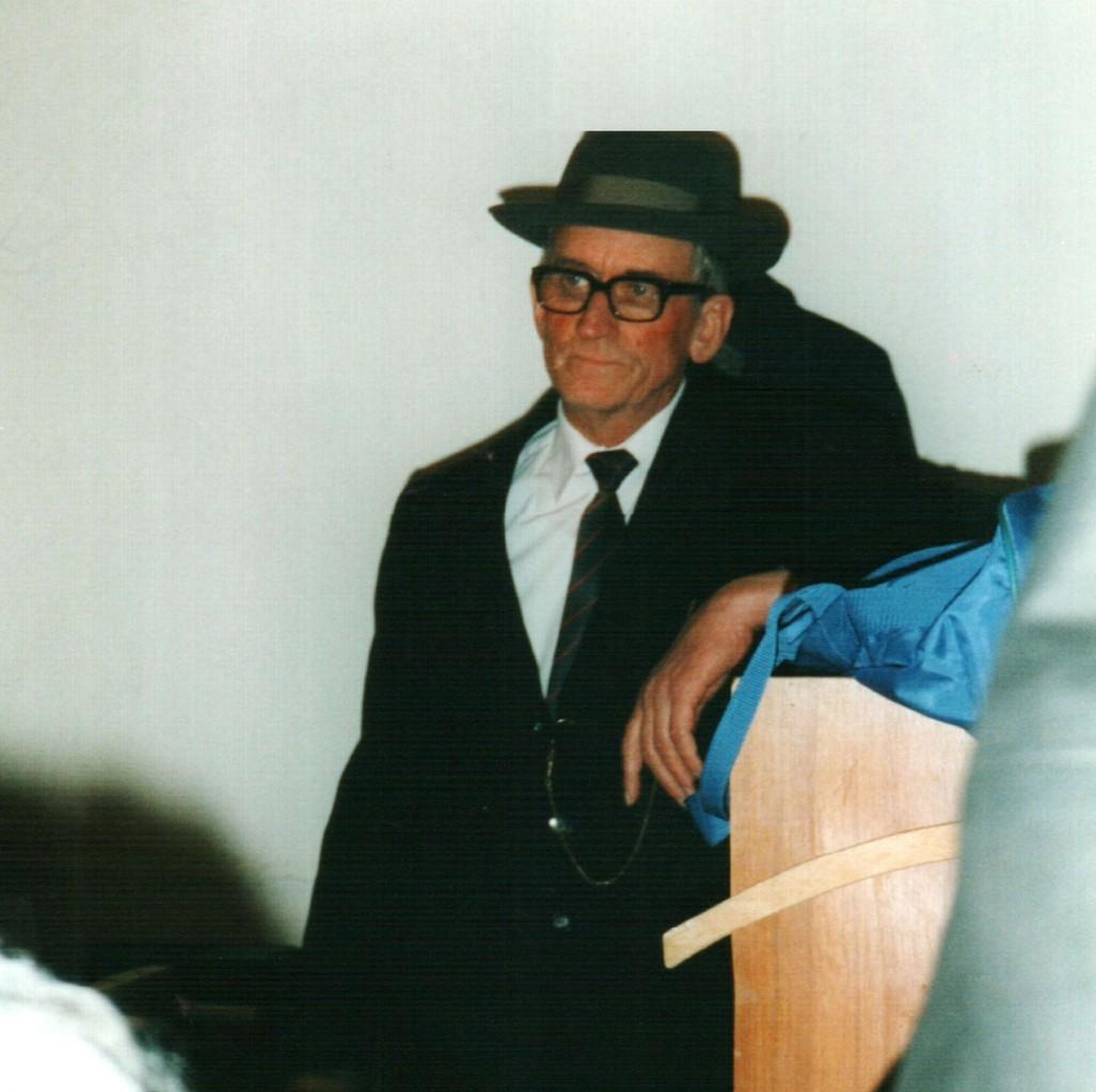 Hinter der Bühne: Heinrich Gilster