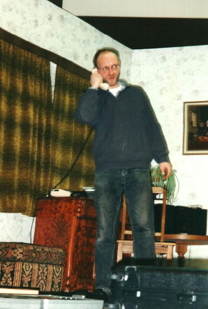 Bei den Proben: Gerald Egler