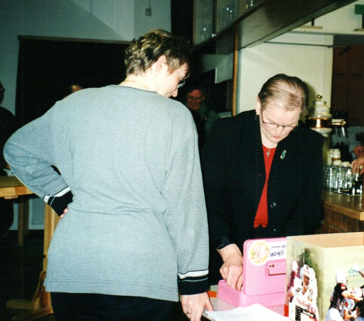 Die einnehmenden Persönlichkeiten: Astrid Schmidt, Maria Miesner