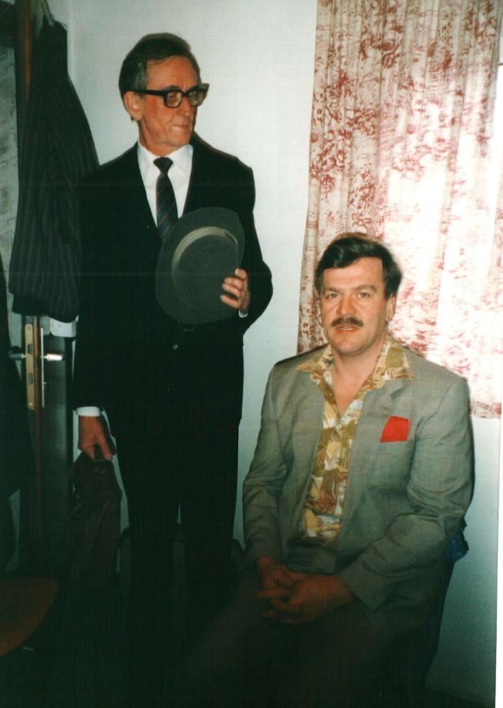 Hinter der Bühne: Heinrich Gilster, Dirk Reineke