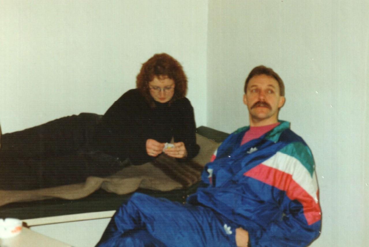 "Nienburg ""Backstage"": Iris Engelke, Fritz Bergholz"