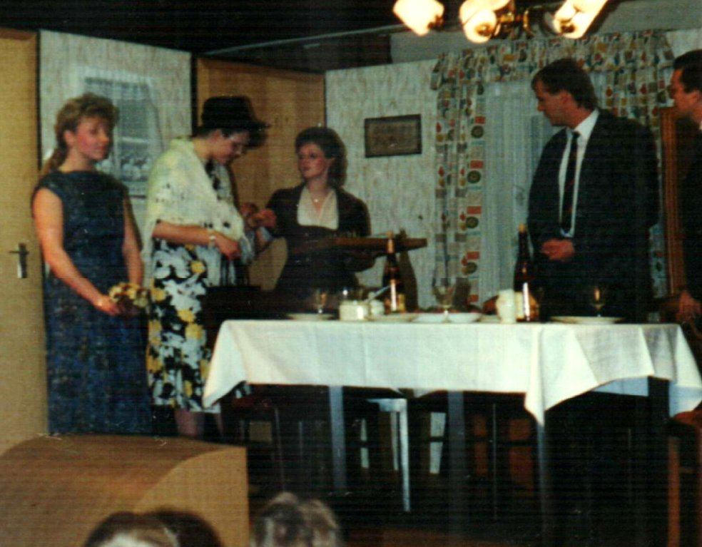 Silke Schwecke, Mirjam Koloff, Birgit Brügesch, Jörg Frohart, Dirk Reineke