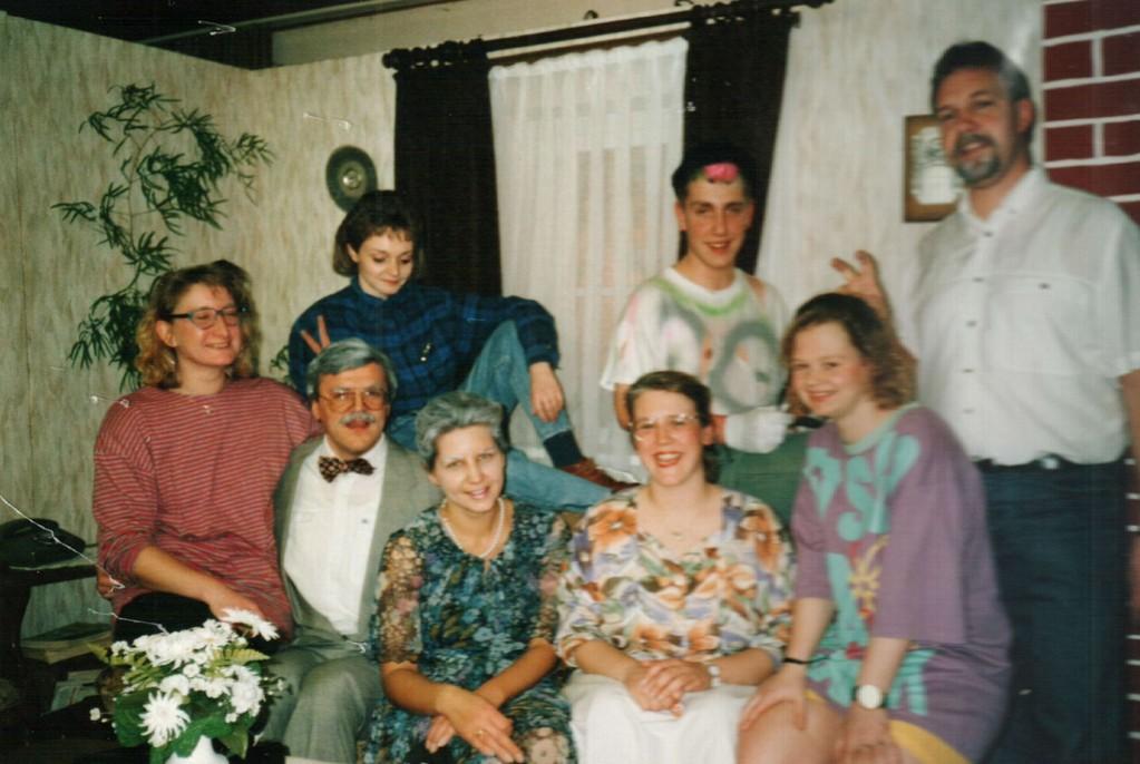 Hintere Reihe: Birgit Brügesch, Christoph Koloff, Fritz Bergholz. Vordere Reihe: Birgit Engelke, Dirk Reineke, Marion Harmening, Mirjam Koloff, Sabine Schäl