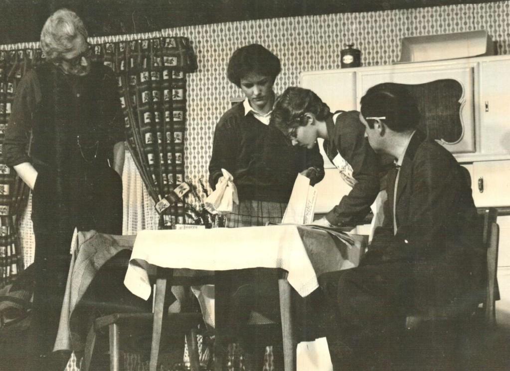Heinrich Gilster, Brigitte Rohlfs, Birgit Brügesch, Kurt Bolte