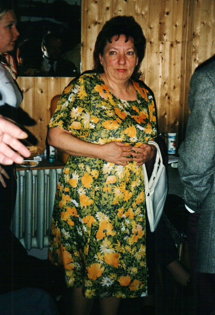 Hinter der Bühne: Gertud Ballerstaedt