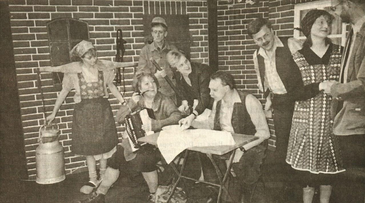 Birgit Brügesch, Gertrud Ballerstaedt. Heinrich Gilster, Mirjam Koloff, Fritz Bergholz, Dirk Reineke, Iris Engelke, Gerald Egler
