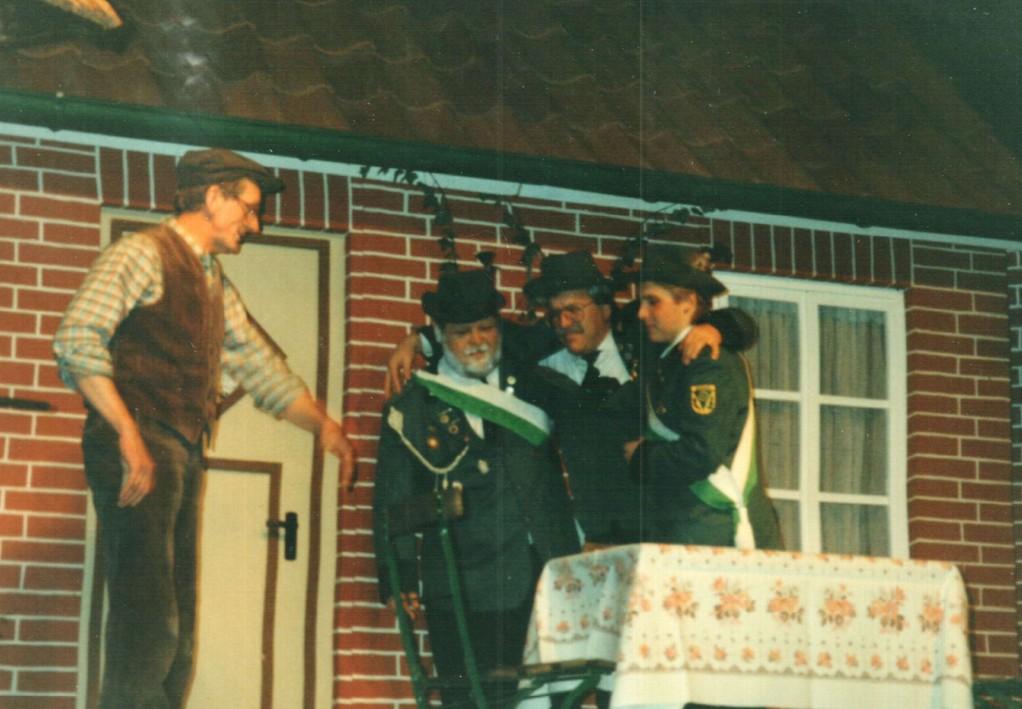 Heinrich Gilster, Ehler Oltmann, Dirk Reineke, Lars Hüttmann