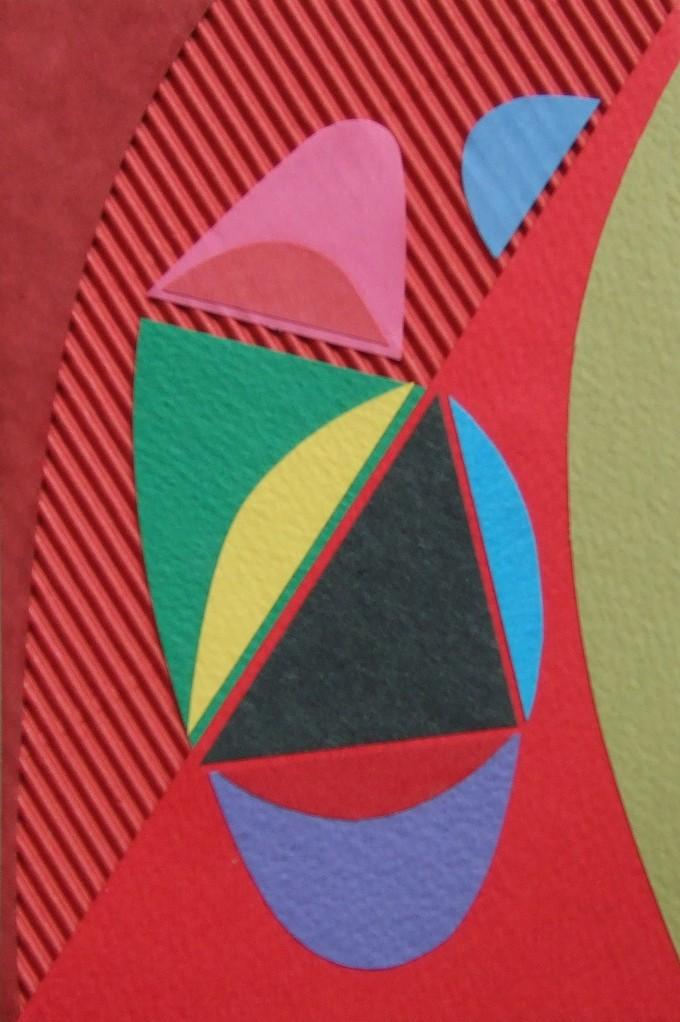 papier collé  182/1001  (150mmx100mm )   2012.11.21.  norio