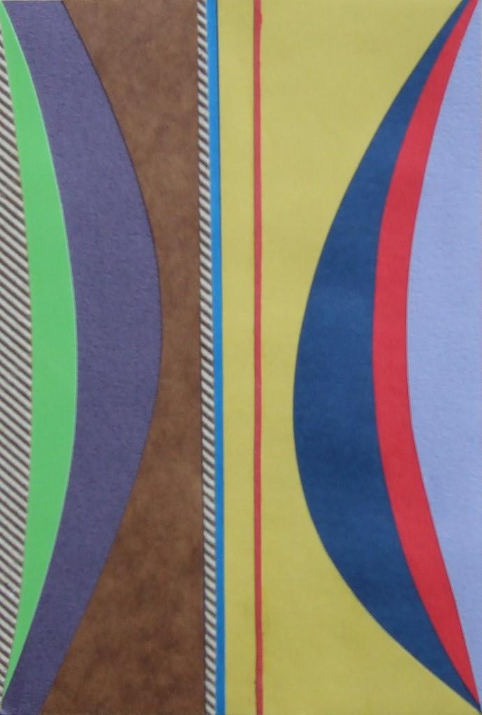 papier collé  132/1001  (150mmx100mm )   2012.10.31.  norio