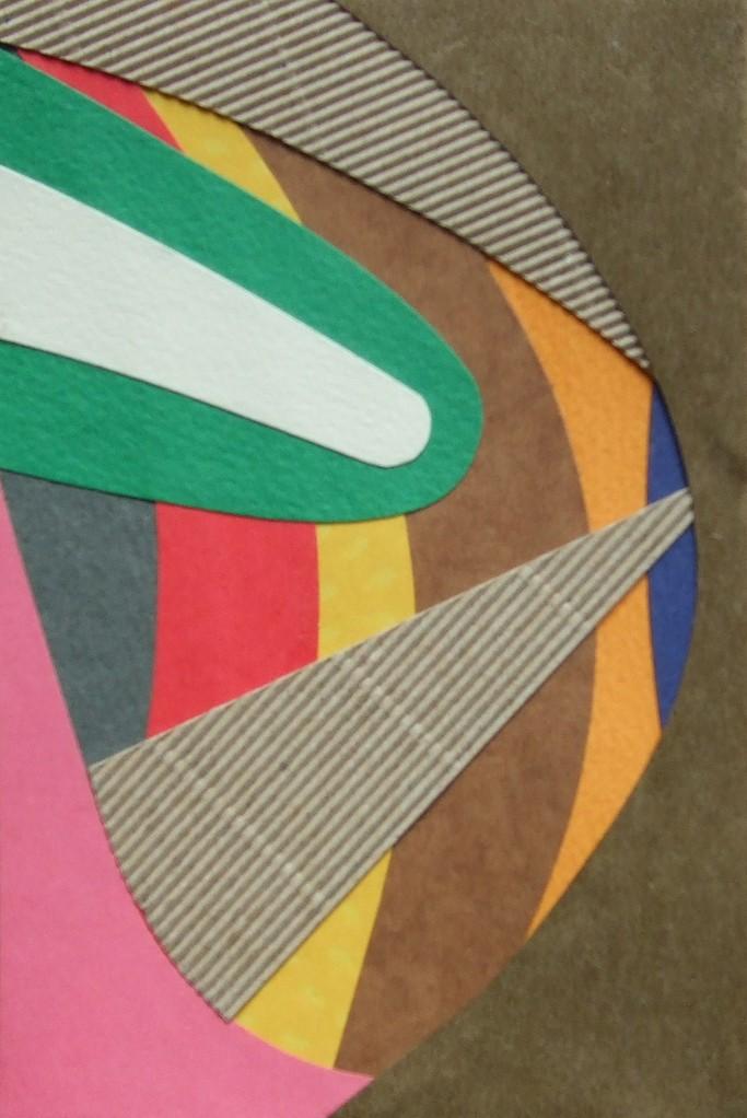 papier collé  143/1001  (150mmx100mm )   2012.11.04.  norio