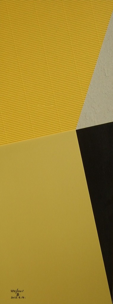 papier collé  450/1001  (550mmx212mm )   2013.09.14.  norio