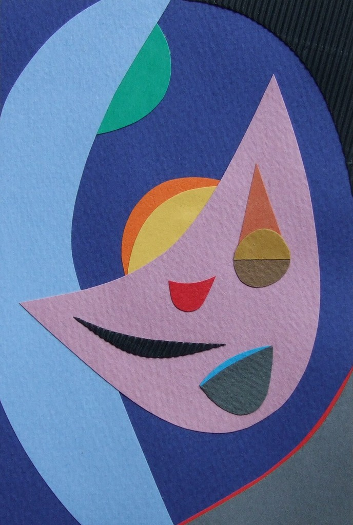 papier collé  067/1001  (150mmx100mm )   2012.10.16.  norio