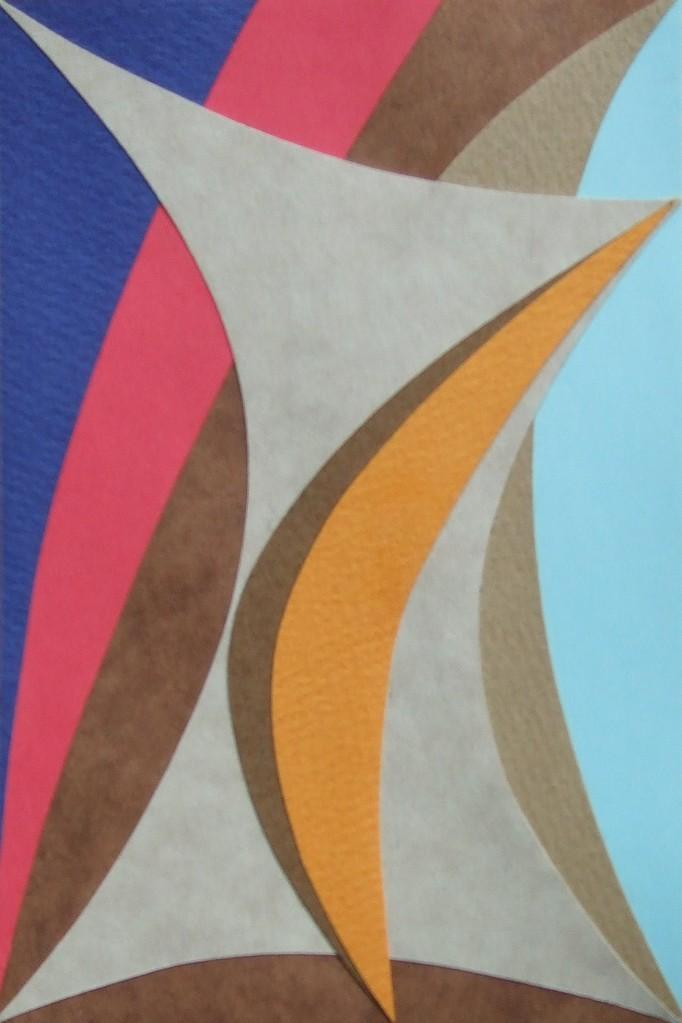 papier collé  106/1001  (150mmx100mm )   2012.10.25.  norio