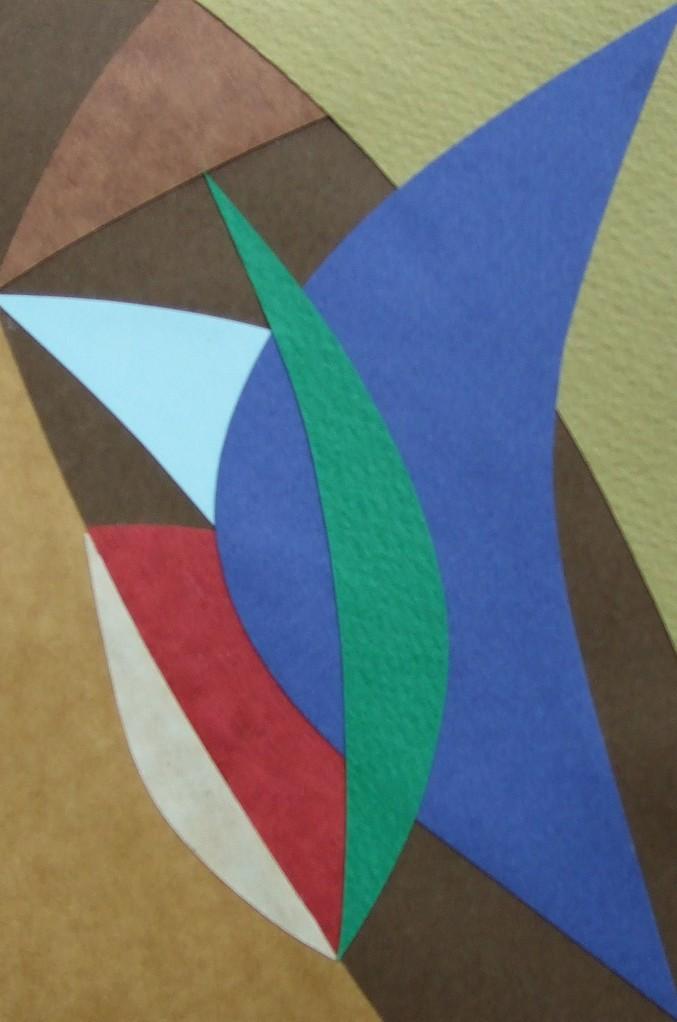 papier collé  126/1001  (150mmx100mm )   2012.10.30.  norio
