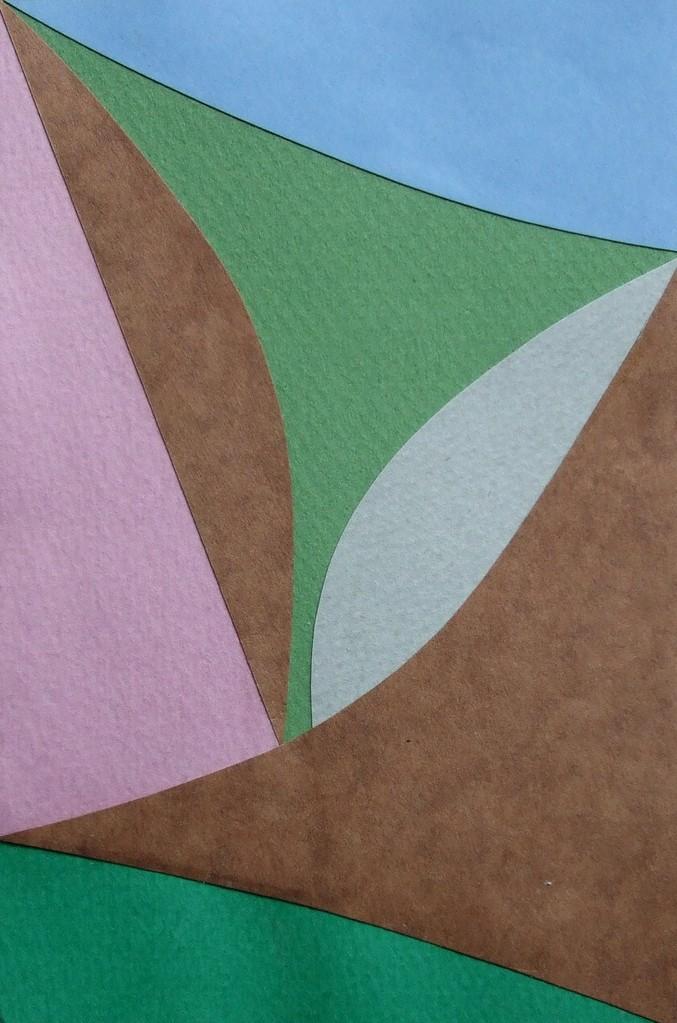 papier collé  074/1001  (150mmx100mm )   2012.10.17.  norio