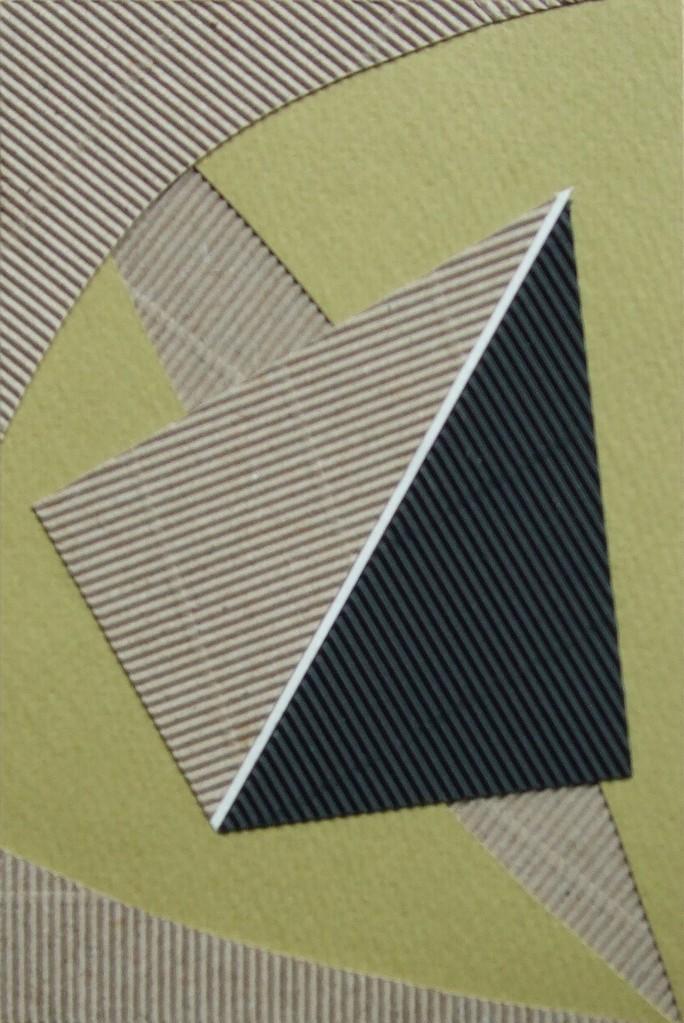papier collé  170/1001  (150mmx100mm )   2012.11.16.  norio