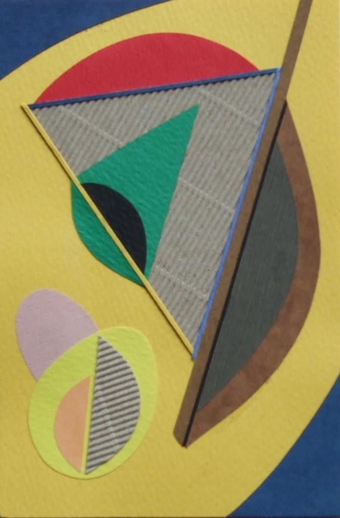 papier collé  125/1001  (150mmx100mm )   2012.10.29.  norio