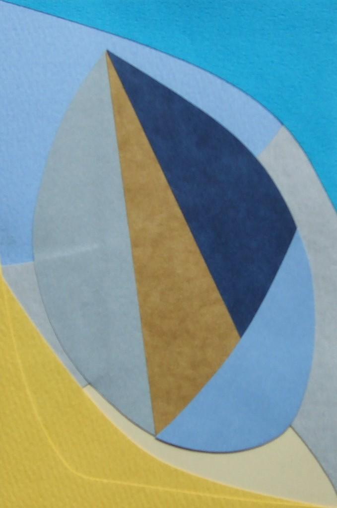 papier collé  123/1001  (150mmx100mm )   2012.10.29.  norio