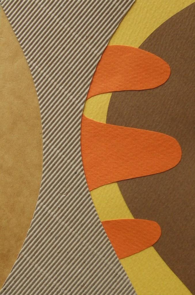 papier collé  217/1001  (150mmx100mm )   2013.01.02.  norio