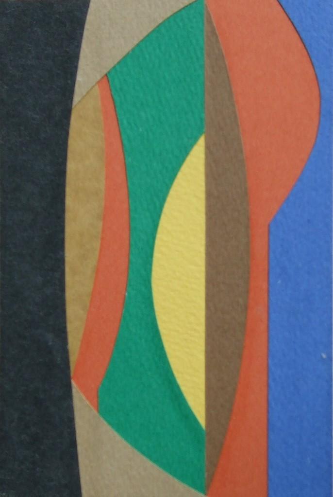 papier collé  108/1001  (150mmx100mm )   2012.10.26.  norio