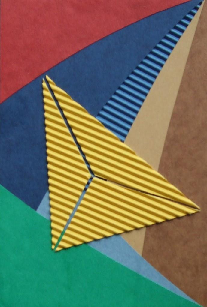 papier collé  140/1001  (150mmx100mm )   2012.11.03.  norio