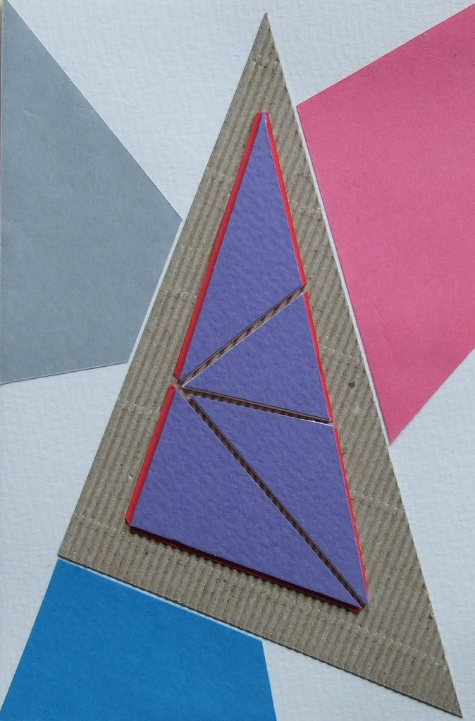 papier collé  055/1001  (150mmx100mm )   2012.10.12.  norio
