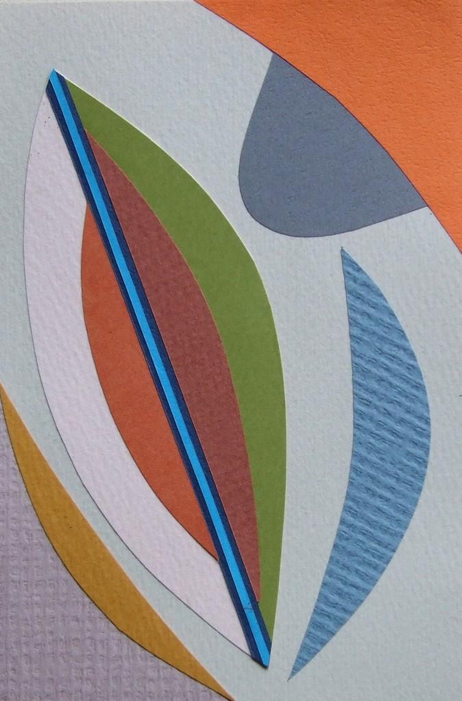 papier collé  048/1001  (150mmx100mm )   2012.10.10.  norio
