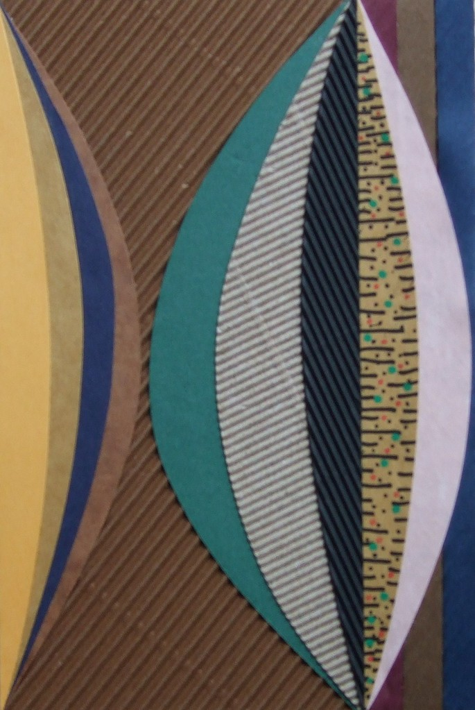 papier collé  200/1001  (150mmx100mm )   2012.12.13.  norio
