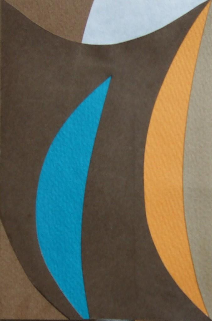 papier collé  107/1001  (150mmx100mm )   2012.10.25.  norio