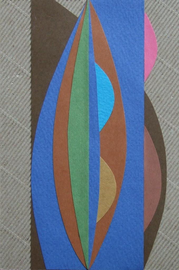 papier collé  075/1001  (150mmx100mm )   2012.10.17.  norio