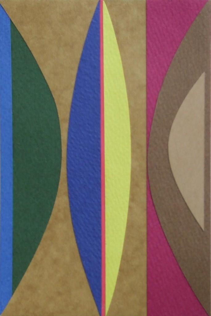 papier collé  104/1001  (150mmx100mm )   2012.10.24.  norio
