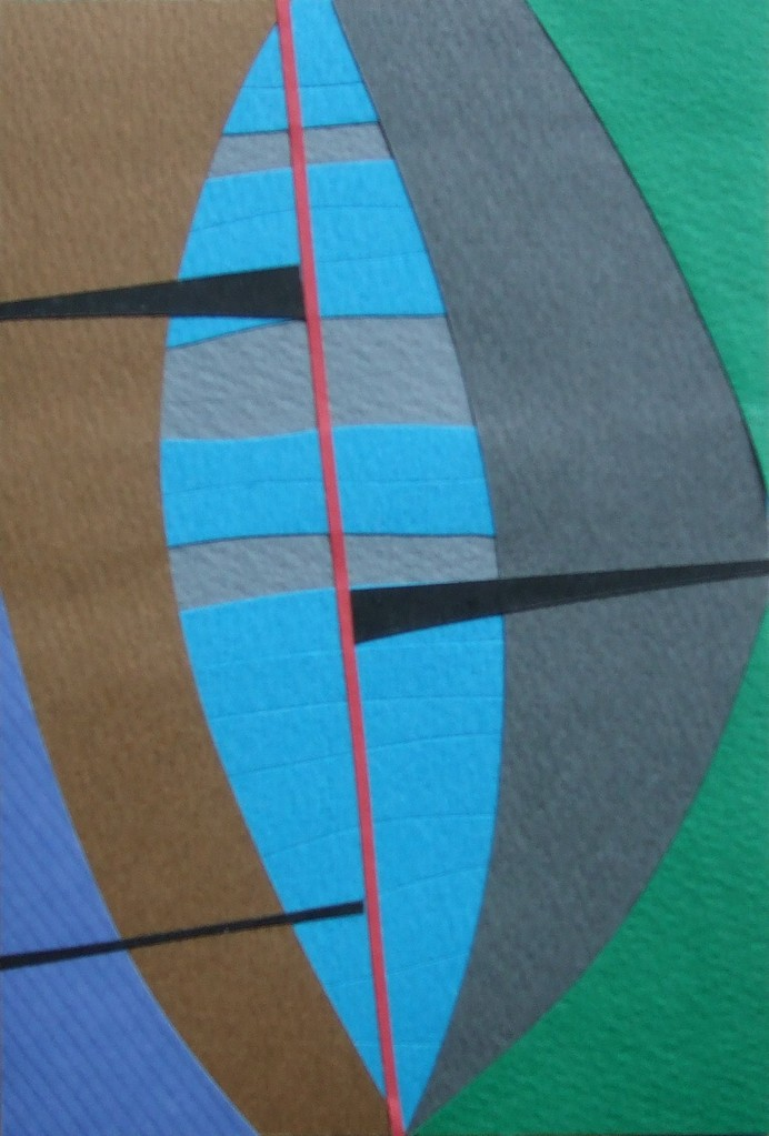 papier collé  195/1001  (150mmx100mm )   2012.11.26.  norio