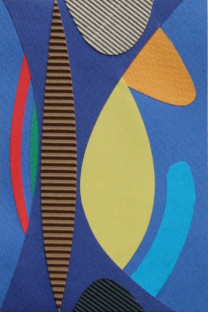 papier collé  146/1001  (150mmx100mm )   2012.11.05.  norio